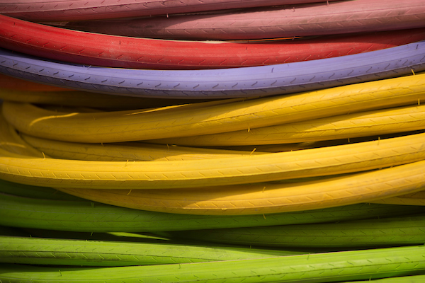 Colored technology cords